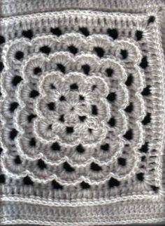 "Yarn Clouds Square (12""hx12""w inches) - Free Original Patterns - Crochetville"