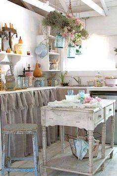 36 Fascinating DIY Shabby Chic Home Decor Ideas #homedecor #decoration #decoración #interiores