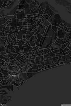 Mapbox Dark by the Mapbox Cartography team -  Designed to be an underlay, this style sits perfectly behind analytics dashboards, data visualizations, and maps with a custom data overlay #maps #MapboxStudio