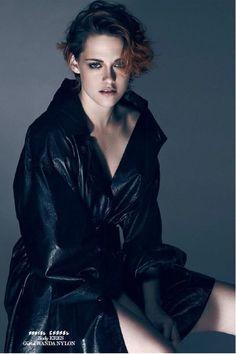 Kristen Stewart in  Interview Magazine (Russia)'sSeptemberIssue. (x)