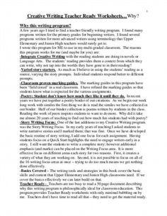 creative writing essay
