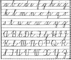 Handwriting Worksheets For Kindergarten, Teaching Cursive Writing, Handwriting Practice Worksheets, Cursive Writing Worksheets, Handwriting Analysis, Sight Word Worksheets, Alphabet Worksheets, Printable Worksheets, Practice Cursive