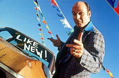 Used-car-salesman/ I he scariest people on the face of the earth