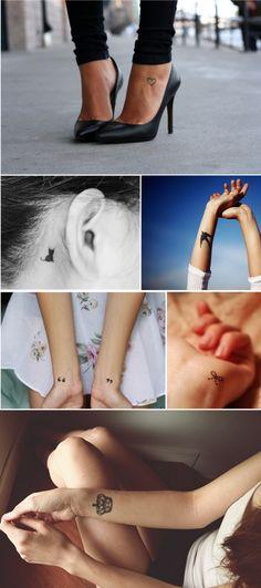 Blog Carol Tognon Tattoo. simple tattoos
