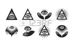 Image result for ojo que todo lo ve vector