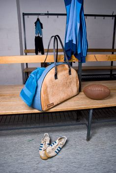 weekender - upcycled sports equipment