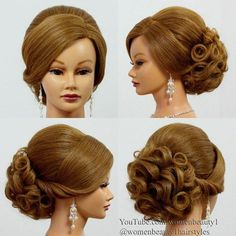 Evening Hairstyles, Party Hairstyles, Bride Hairstyles, Wedding Hair Up, Wedding Hairstyles For Long Hair, Bridal Hair, Hair Up Styles, Victorian Hairstyles, Prom Hair Updo