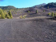 Sandwüste Llano del Jable auf La Palma