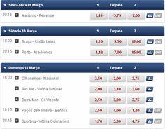 As quotas Superliga 22ª Jornada Sporting Porto Benfica   Boas Apostas! https://pt.betclic.com/content.aspx?pagecode=spo_apostas