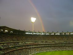 MCG - Best sports stadium in the world. There is nothing like hearing people roar. Sports Stadium, Our Town, Melbourne Victoria, Summer Rain, Holy Spirit, Amazing Places, World Cup, Cricket, The Good Place