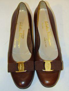 d6007ad9924f9 Salvatore Ferragamo Leather Ballet Narrow (AA, N) Women's Flats & Oxfords    eBay