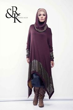 Rahaf and kenzy winter designs by Naima Kamel | Just Trendy Girls