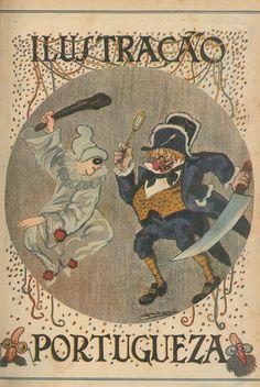 1921 Carnaval! - Ilustração Portuguesa