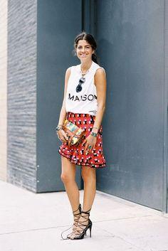 Fall 2013-14 Trends: Ruffle Hem Skirt