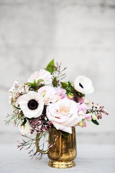 Anemones. all flowers look better in vintage silver. It brings out the Hopeless romantic in all of us, remembering a time when we could slow down and enjoy the beauty of the simpler ways.