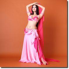 EmanZaki オリエンタル衣装Pink(20em07_12_pk) | ★オリエンタル衣装【Emanzaki / Hodazaki】 | | ベリーダンス衣装・通販 Fig