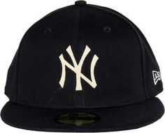 cb0023f1c2b70 New Era 59Fifty NY The Lounge Fitted Black Jersey Cap. Black with the NY  front