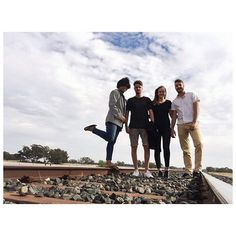 '🌸|| During the last days we've been cruising around in the outback. Pretty cool experience to drive through the flat land meeting many Aboriginals & Australians -rich & poor. Good to see how less you need in life to be happy 😊 #outback #australia #australians #people #travel #roadtrip #follow #team #debbie #positive #music #boys #girls #railway #photography #travelblogger' by @_lifewithabackpack_. What do you think about this one?  #partyplanner #eventstyling #weddingcoordinator…
