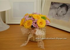 Aranjamente florale in cosulete / Floral Arrangements in baskets Floral Arrangements, Photo And Video, Flower Arrangement, Flower Arrangements, Table Arrangements, Floral Wreath