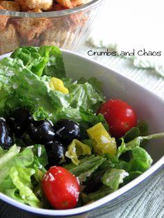 MYO: Italian Dressing & O.G. Salad - Crumbs and Chaos