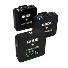 Wireless GO II | Dual Wireless Mic System | RØDE Microphones Bluetooth, 4g Wireless, Camcorder, Smartphone, Camera Rig, Hardware, Digital Audio, Laptop, Shopping