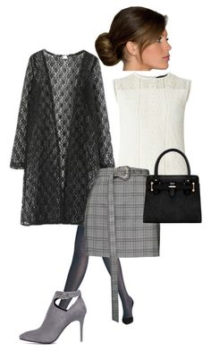 """""""Confident and gentle"""" by michelle2-1 ❤ liked on Polyvore featuring Dorothy Perkins, Wolford, WithChic and Magda Butrym"""