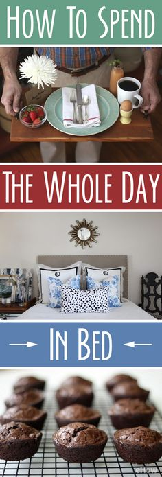 Feeling lazy? These DIYs will help make your day in bed THAT much more enjoyable: http://www.ehow.com/how_2309657_spend-whole-day-bed-.html?utm_source=pinterest.com&utm_medium=referral&utm_content=curated&utm_campaign=fanpage