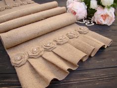 Farmhouse Table Runner Rustic Wedding Burlap Table Decor Country Table Setting Boho Barn Wedding Decor Jute Table Runner Xmas Runner - W. Farmhouse Table Runners, Burlap Table Runners, Wedding Table, Rustic Wedding, Wedding Burlap, Wedding Country, Boho Wedding, Wedding Aisles, Wedding Ceremonies