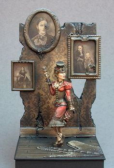 Great Steam Punk model! A Daily Dose for 28april2015 from the Michigan Toy Soldier Company. Find us at: www.michtoy.com