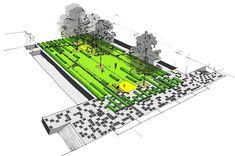 Buro Sant en Co Landscape Architecture - Roof gardens Masira