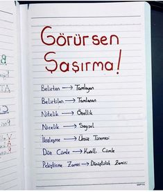 Learn Turkish, School Notes, Medical, Study, Motivation, Education, Learning, Books, Rage