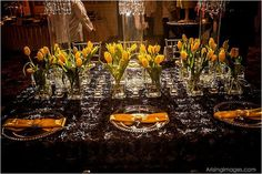 Amazing tulip tablescape featured on  http://www.eventtrender.com/blog/2012/04/sheer-bliss-.html