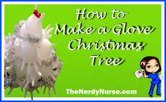 How to Make a Glove Christmas Tree