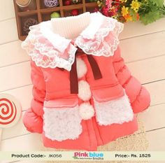 Winter jacket for baby girl in india
