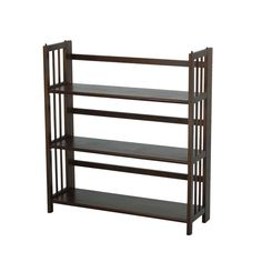 3Tier Stackable Mission Style Folding Bookcase 35 Wide 5595 These Beautiful Bookshelves Are Durably Crafted