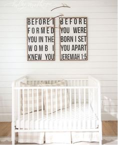 Before I Formed You Wood Signs by HouseofBelongingLLC on Etsy
