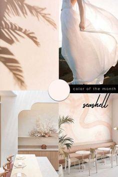 nude-color-trend-interiors-design-2021-PINTEREST Off White Color, Nude Color, Color Of The Year, All The Colors, Mint Wallpaper, Pantone 2020, Shades Of White, Light Shades, Latest Colour