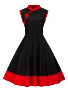 Plus Size Women Clothing Pin UP Vestidos Summer Retro Casual Party Robe Rockabilly Vintage Dresses - Outfits~ - Casual Party Dresses, Plus Size Party Dresses, Dress Party, Party Wear, Prom Dress, Plus Size Vintage Dresses, Peplum Dresses, Pin Up Dresses, Beige Dresses