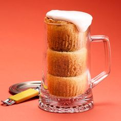 Cupcake Beers! 5 Cute Cupcake Decorating Ideas | http://www.rachaelraymag.com/fun-how-to/makeovers/dressed-up-cupcakes/4/