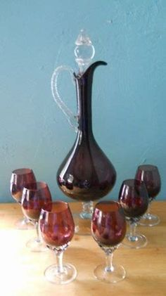 Image Result For Vintage Wine Decanters Values
