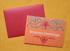 Soiree Season's Greetings Cards (Set of 10).
