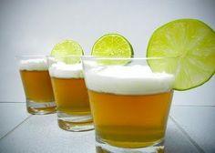 jello shots for men....beer jello