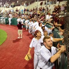 Victory Lap around Dudy Noble  #hailstate. I was at that game! So great that my bulldogs are on to the Super Regionals!