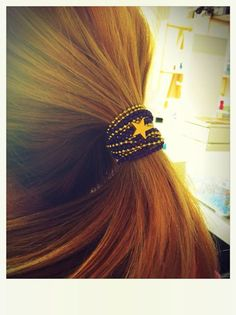 UNO Magnetic as a ponytail wrap... BAM!