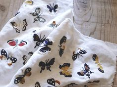 Butterfly embroidery I Yumiko Higuchi