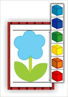 11 Math Centers - Farm {Pre-k & Kindergarten} 111 pages in total. Lots of hands on games and activities to make learning FUN! A page from the unit: Non standard measurement. Get this activity FREE when you download the sample.
