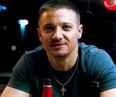 Jeremy Renner The Town great smile