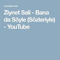Ziynet Sali Bana Da Soyle Sozleriyle Youtube Youtube Danca