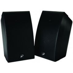 Dayton Audio SAT-BK Satellite Speaker Pair Black. Dayton Audio's compact multi-purpose speakers are designed to provide excellent clarity and detail for use in any surround sound or general audio application. These speakers are capable of much bigger sound than their small size suggests.
