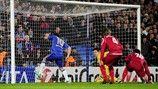 Juan Mata (Chelsea FC)   Chelsea 6-1 Nordsjaelland. [05.12.12] Chelsea Fc, Uefa Champions League, Baseball Cards, Sports, Juan Mata, Hs Sports, Excercise, Chelsea F.c., Sport